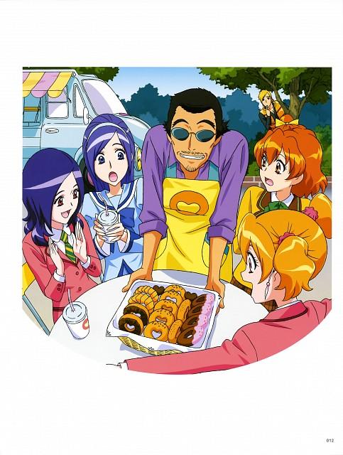 Toei Animation, Fresh Precure!, Hisashi Kagawa Toei Animation Precure Works, Kaoru (Fresh Precure), Setsuna Higashi