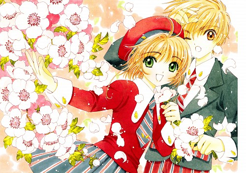 CLAMP, Cardcaptor Sakura, Cardcaptor Sakura Illustrations Collection 3, Sakura Kinomoto, Syaoran Li