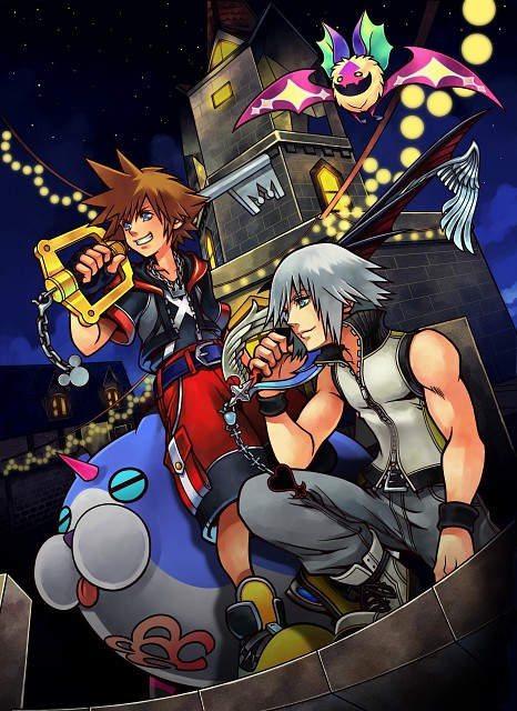 Square Enix, Kingdom Hearts, Riku, Sora