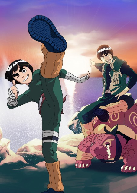 Studio Pierrot, Naruto, Gai , Rock Lee