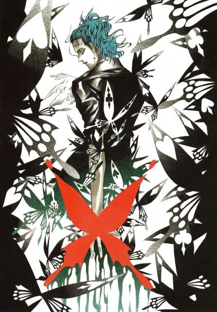 Katsura Hoshino, D Gray-Man, Noche - D.Gray-man Illustrations, Tyki Mikk