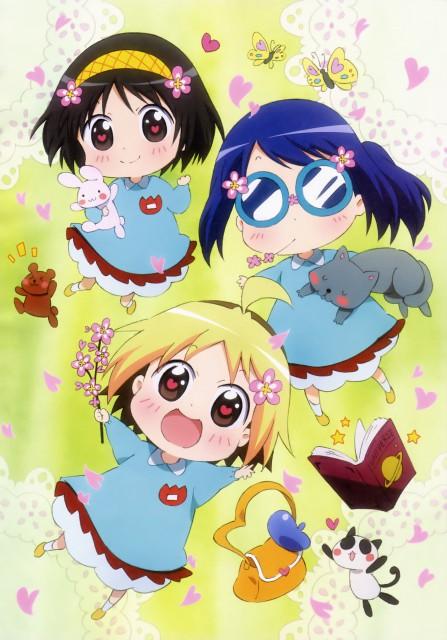 Yuuto, Gainax, Hanamaru Youchien, Anzu (Hanamaru Youchien), Hiiragi (Hanamaru Youchien)