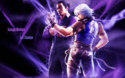 Namco, Tekken, Lee Chaolan, Kazuya Mishima Wallpaper