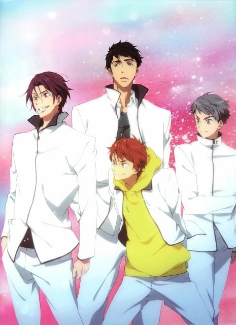 Kyoto Animation, Free!, Sousuke Yamazaki, Rin Matsuoka, Momotarou Mikoshiba