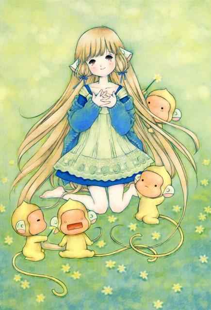 Masumi Sudo, Chobits, Chobits Fan Book, Chii, Doujinshi