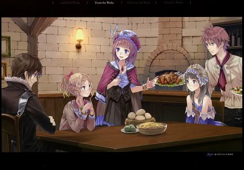 Mel Kishida, Gust, Atelier Rorona & Totori Art Book, Atelier Totori, Cuderia Von Feuerbach