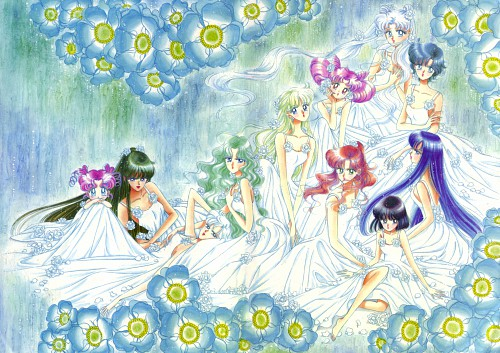 Naoko Takeuchi, Bishoujo Senshi Sailor Moon, BSSM Original Picture Collection Vol. V, Michiru Kaioh, Usagi Tsukino