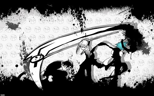 BONES, Soul Eater, Maka Albarn, Death The Kid, Black Star Wallpaper