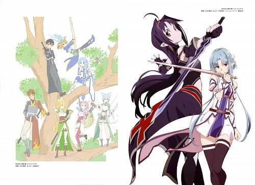 Shingo Adachi, A-1 Pictures, Sword Art Online, Yui (Sword Art Online), Sinon