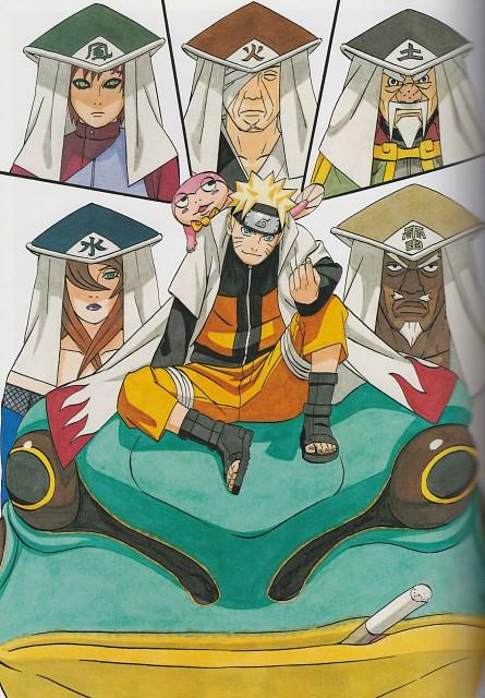 Naruto, NARUTO Illustrations, Uzumaki (Artbook), Naruto Uzumaki