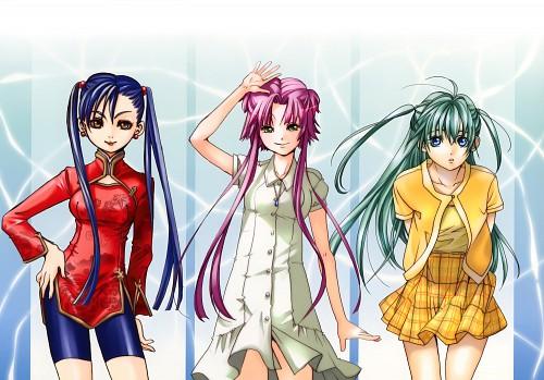 Kozue Amano, Aria, Akari Mizunashi, Aika Granzchesta, Alice Carroll