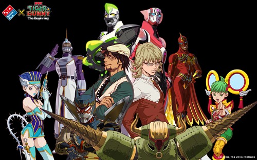 Fire Emblem Tiger And Bunny: Tiger And Bunny (Kotetsu T. Kaburagi, Barnaby Brooks Jr