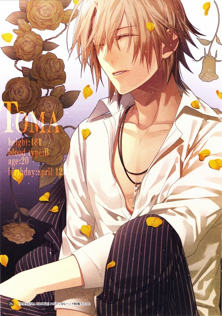 Mai Hanamura, Brains Base, Idea Factory, AMNESIA Crowd Official Visual Fan Book, AMNESIA