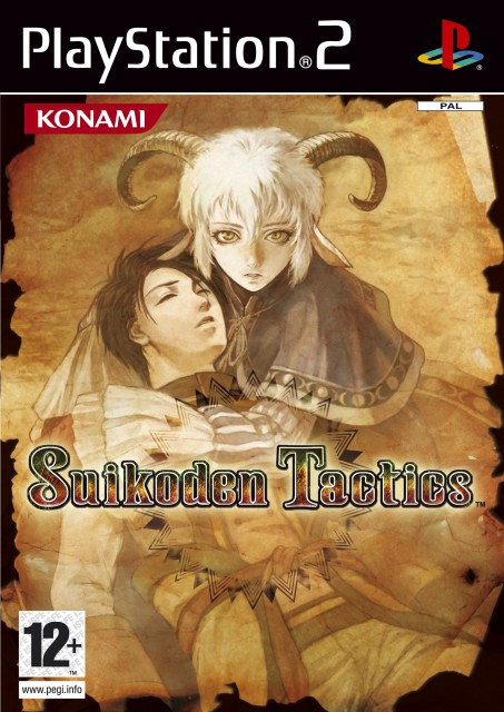 Konami, Suikoden I, Kyril, Video Game Cover