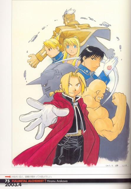 Hiromu Arakawa, Fullmetal Alchemist, Fullmetal Alchemist Artbook Vol. 1, Winry Rockbell, Alphonse Elric