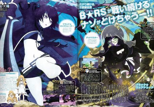 Black Rock Shooter, Black Rock Shooter (Character), Kagari Izuriha, Dead Master, Magazine Page