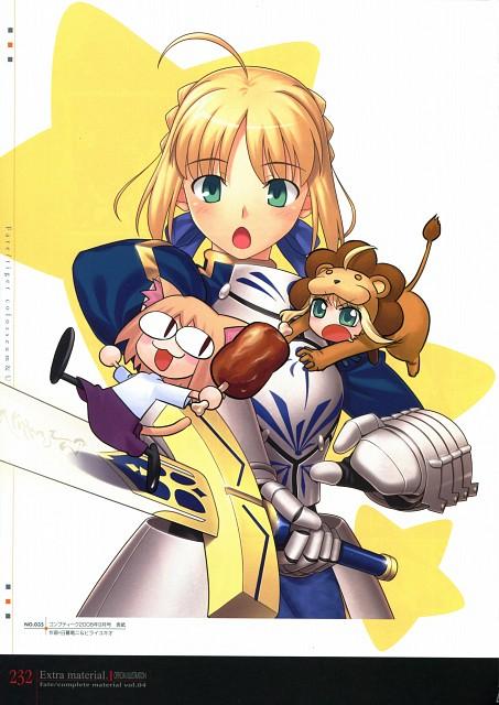 Yukio Hirai, TYPE-MOON, Fate/tiger colosseum, Saber Lion, Neco-Arc
