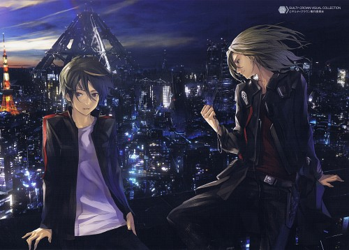 redjuice, Production I.G, GUILTY CROWN, Guilty Crown Visual Collection, Shu Ouma
