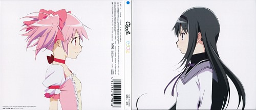 Shaft (Studio), Puella Magi Madoka Magica, Madoka Kaname, Homura Akemi, Album Cover