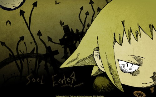Soul Eater, Medusa Gorgon Wallpaper