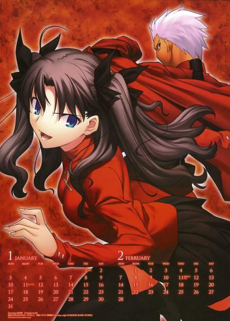 TYPE-MOON, Fate/stay night, Archer (Fate/stay night), Rin Tohsaka
