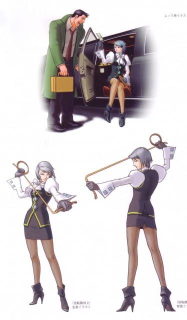 Capcom, Art of Gyakuten Saiban - Naruhodou, Ace Attorney, Dick Gumshoe, Franziska Von Karma