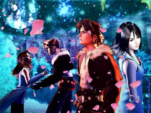 Square Enix, Final Fantasy VIII, Rinoa Heartilly, Squall Leonhart Wallpaper