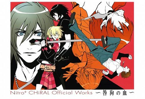 Nitro+, A-1 Pictures, Togainu no Chi, Rin (Togainu no Chi), Keisuke