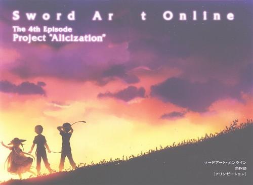 Abec, Sword Art Online, Alice Schuberg, Eugeo, Kazuto Kirigaya