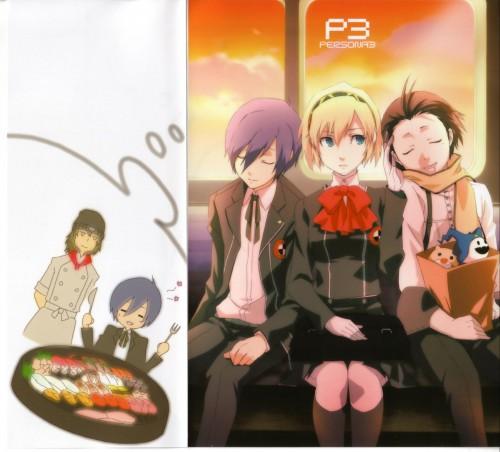 Shuuji Sogabe, Shigenori Soejima, Shin Megami Tensei: Persona 3, Minato Arisato, Aegis