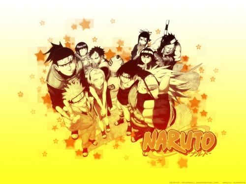 Masashi Kishimoto, Studio Pierrot, Naruto, Rock Lee, Hinata Hyuuga Wallpaper