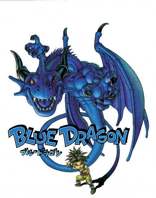 Akira Toriyama, Studio Pierrot, Blue Dragon, Shu (Blue Dragon), Official Digital Art