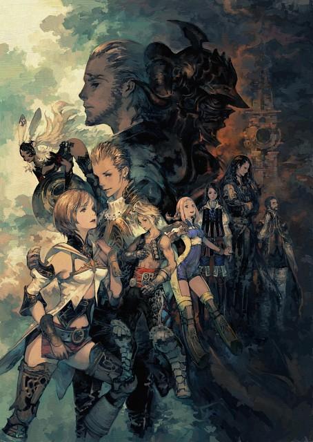 Square Enix, Final Fantasy XII, Balthier, Larsa, Basch