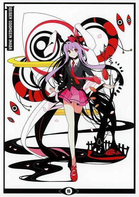 Ideolo, Black Album 2, Touhou, Reisen Udongein Inaba, Comic Market 80