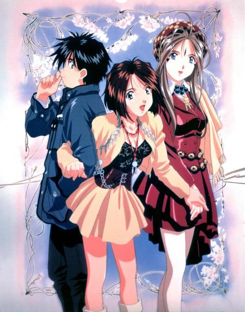Kousuke Fujishima, Anime International Company, Ah! Megami-sama, Keiichi Morisato, Megumi Morisato