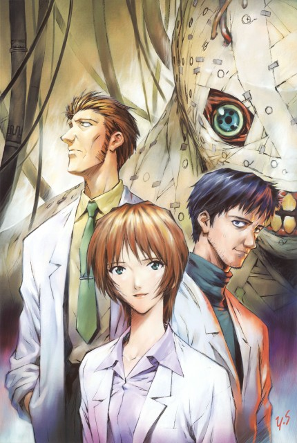 Yoshiyuki Sadamoto, Neon Genesis Evangelion, Die Sterne, Carmine, Gendo Ikari