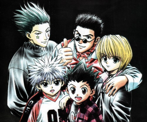 Yoshihiro Togashi, Hunter x Hunter, Killua Zaoldyeck, Leorio, Kurapika