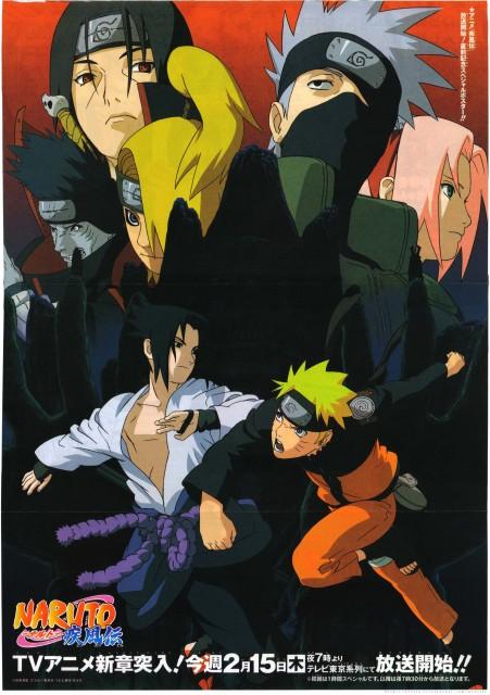 Studio Pierrot, Naruto, Deidara, Sakura Haruno, Kisame Hoshigaki