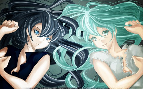 Black Rock Shooter, Vocaloid, Black Rock Shooter (Character), Miku Hatsune, Member Art Wallpaper