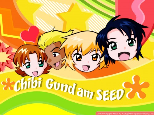 Sunrise (Studio), Mobile Suit Gundam SEED, Cagalli Yula Athha, Athrun Zala, Dearka Elthman Wallpaper