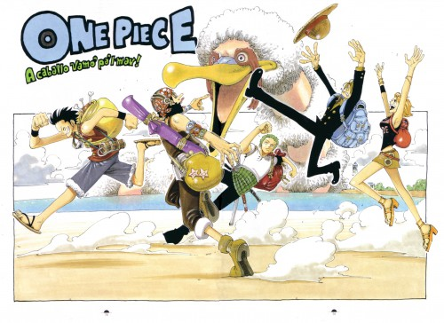 Eiichiro Oda, One Piece, Color Walk 2, Nami, Monkey D. Luffy