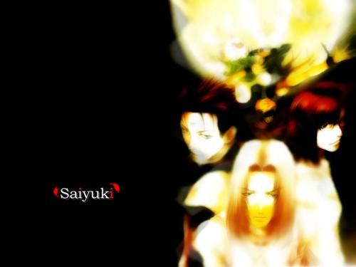Kazuya Minekura, Saiyuki Gaiden, Konzen Douji, Kenren Taishou, Son Goku (Saiyuki) Wallpaper