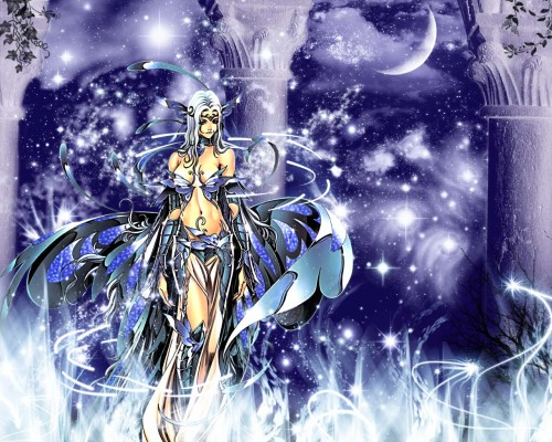 Future Studio, Saint Seiya, Saint Seiya: The Lost Canvas, Sacred Saga, Aphrodite Specter Wallpaper