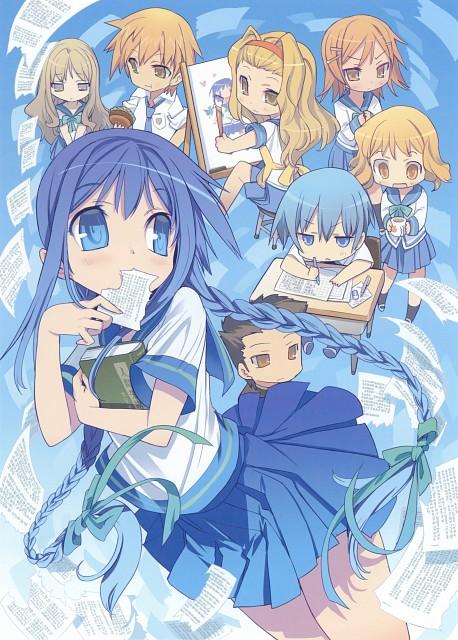 BLADE, Bungaku Shoujo, Bungaku Shoujo Fantasy Art Book, Nanase Kotobuki, Konoha Inoue