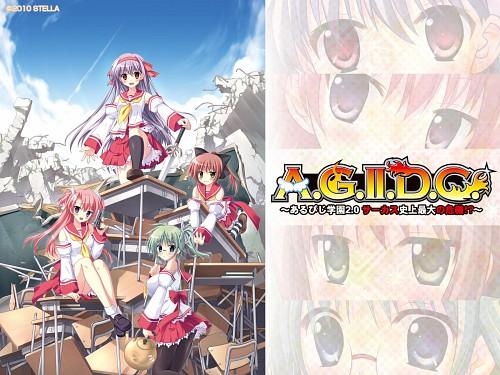 Akisoba, A.G.II.D.C, Hilde (RPG Gakuen), Mina Plum Hellsing, Iria Hoshikawa