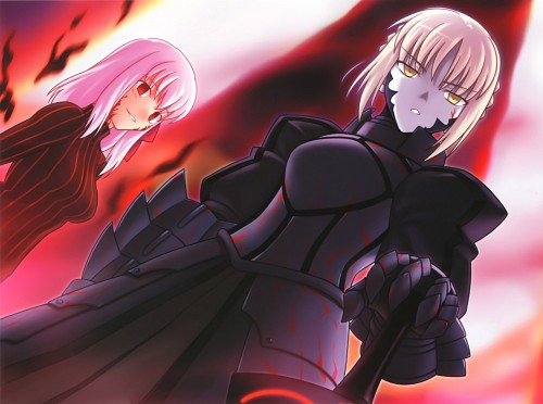 Ryuuji Higurashi, TYPE-MOON, Fate/complete material IV Extra material., Fate/stay night, Saber Alter