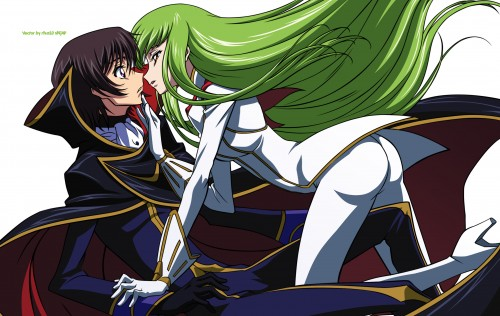 Sunrise (Studio), Lelouch of the Rebellion, Lelouch Lamperouge, C.C., Vector Art