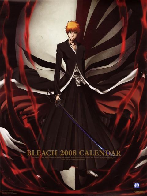 Studio Pierrot, Bleach, Bleach 2008 Calendar B, Ichigo Kurosaki, Calendar