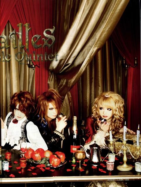 Versailles: Philharmonic Quintet, Yuki, Kamijo, Hizaki, Cure (Magazine)