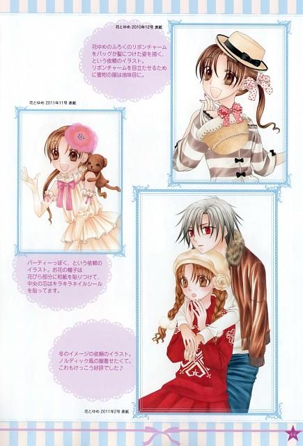 Tachibana Higuchi, Gakuen Alice, Graduation - Gakuen Alice Illustration Fan Book, Mr. Bear, Natsume Hyuuga